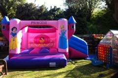 12 x 12 Princess Bouncy Castle with Slide