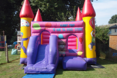 Circus 15×15 Bouncy Castle with Front Slide