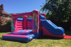 Princess Bouncy Castle with slide 12 x 12