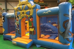 Inflatable Fun House Activity Centre Front