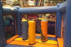 Inflatable Fun House Activity Centre Obstacles