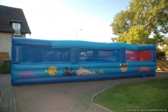 inflatable Obstacle Course side
