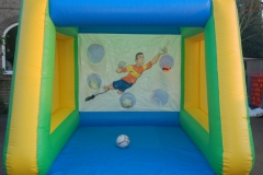 Inflatable Penalty Shootout blue and yellow Large